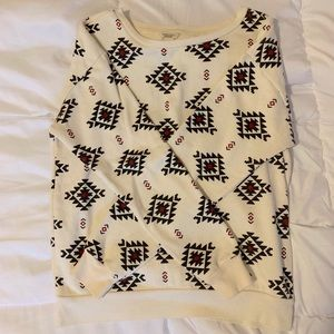 Forever 21 Aztec Print Sweater